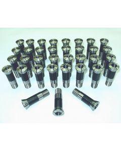 Spannzangensatz 358E W23 1,0 - 18,0 NEU 0,5mm steigend (35 Stück)
