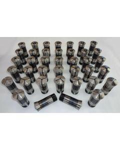 Spannzangensatz neuwertig 5C 385E 1-20 mm 0,5mm steigend