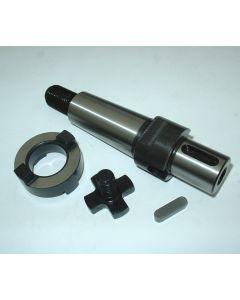 Kombiaufsteckdorn MK4 S20x2 D27 mit oder ohne Schlüssel, Deckel Fräsmaschine