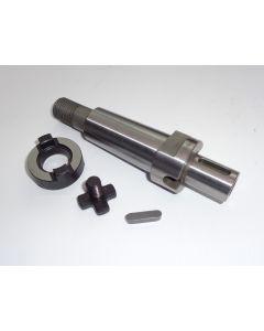 Kombiaufsteckdorn gebr. MK4 D22 S20x2 z.B Deckel Fräsmaschine.