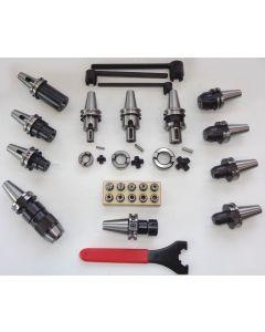 Werkzeugaufnahme Satz SK30 DIN69871 und Spannzange Satz ER16 mit Schlüssel