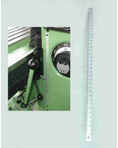 Grobmaßstab Z- Achse für Deckel FP1 Fräsmaschine ab. 1980