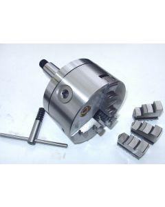 Dreibackenfutter D125mm MK4 S20x2  z.B. für Deckel Fräsmaschine