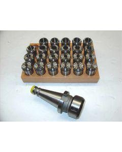 Spannzangenfutter DIN2080 SK40  OZ 462 Satz z.B.für Deckel Fräsmaschine