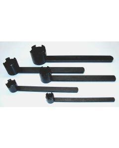 5 Fräsdornschlüßel 16 - 40  z.B. für Deckel Fräsmaschine