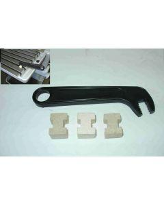 T-Nutenreiniger 12 mm für Deckel Fräsmaschine