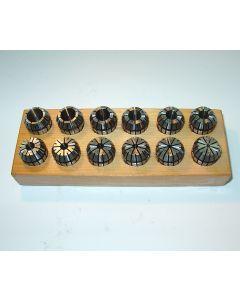 Spannzangensatz ER20  D2 - 13mm z.B. für Deckel Fräsmaschine