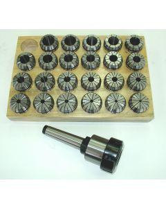 Spannzangenfutter MK3 M12 ER40 Satz Rl. max. 8µm z.B. für Deckel Fräsmaschine