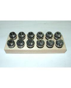 Spannzangensatz ER20  D2-13mm Rl. max. 8 µm z.B. für Deckel Fräsmaschine