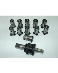 Spreizdorn Zylindrisch 20mm Schaft, D19,5 - 24,5mm, 0,5mm steigend