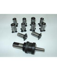 Spreizdorn Zylindrisch 18mm Schaft, D14,5 - 19mm, 0,5mm steigend