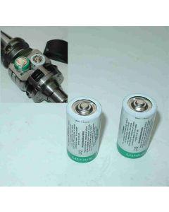 Batterien Satz (2 Stück) für Heidenhain TS 632/640/641/649