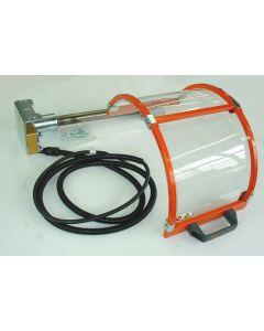 Futterschutz bis D160mm klappbar mit Mikroschalter für Drehmaschinen