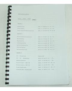 Elektrische Unterlagen Deckel Fräsmaschine FP2-3-4 NC bis Bj. 85 Dialog3.