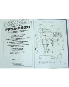 Ersatzteilplan Deckel FP3A 2820