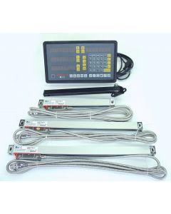 3 Achsen Digitalanzeige Arbah z.B. für Deckel FP1 Fräsmaschine