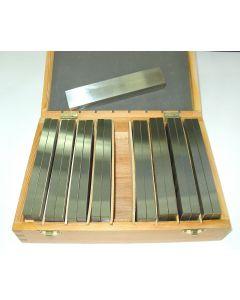 Parallelleistensatz - Parallelunterlagen 150x10 mm 9 Satz, Deckel  Fräsmaschine