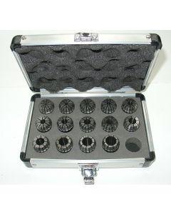 Präzision Spannzangensatz ER25 D3-16, Rl. max. 5µm, z.B. für Deckel Fräsmaschine