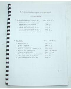 Elektrische Unterlagen für Deckel FP2-3-4 NC mit Siemens 3M