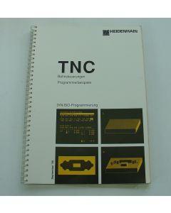Bedienungshandbuch Bahnsteuerung Programmierbeisbiele TNC Heidenhain