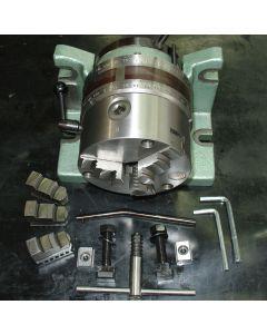 Teilapparat neu D125mm Bison z.B. für Deckel  Fräsmaschine