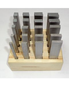 Parallelleistensatz 100mm 2x5 - 6x24 mm 20 Satz z.B. für Deckel  Fräsmaschine.