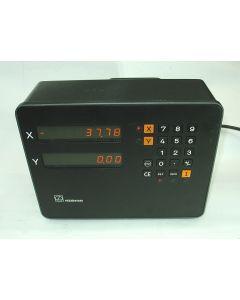 2 Achsen Zähler im Austausch (Exchange) VRZ 710C  Digitalanzeige von Heidenhain