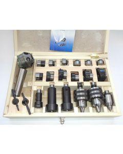 Revolverkopf Satz MK4 für 6 Werkzeuge, z.B. Weiler Drehmaschinen