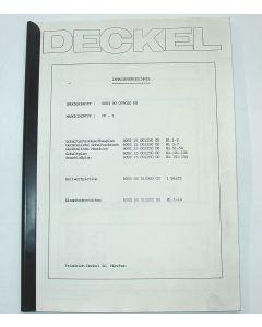 Elektrische Unterlagen  Deckel FP1 mit TNC113, ab  Bj.90