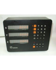 3 Achsen Zähler im Austausch (Exchange) VRZ 760B, Digitalanzeige von Heidenhain