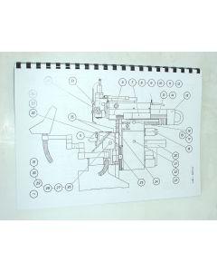 Elektrische Unterlagen  FP3AT, FP4 AT D11 ab Bj.88 für Deckel Fräsmaschie