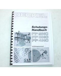 Bediener-Schulungshandbuch, Deckel FP2-3-4 NC Steuerung Dialog 2
