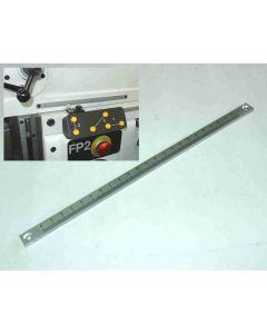 Grobmaßstab Y- Achse für Deckel FP2 Fräsmaschine ab 1977