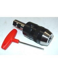 Kurzbohrfutter D1-13, zyl. Schaft 25 mm z.B. für Deckel Fräsmaschine