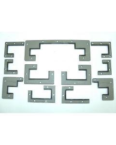 Abstreifer Komplettsatz für Deckel Fräsmaschine FP4CC 2807