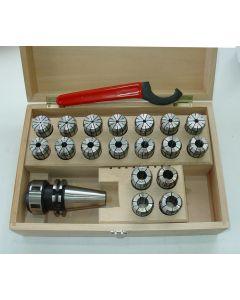 Spannzangenfutter SK40 DIN69871 OZ462 D3-20 z.B. für Deckel Fräsmaschine