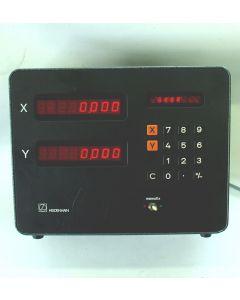 2 Achsen Zähler im Austausch (Exchange) VRZ 713, Digitalanzeige von Heidenhain