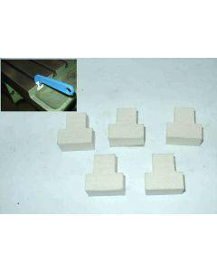 T-Nutenreiniger Filzsatz 16 mm für Deckel Fräsmaschine