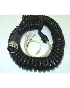 Anschlusskabel Spiralkabel konfekt. elekt. Handrad D4, D11 Deckel Fräsmaschine