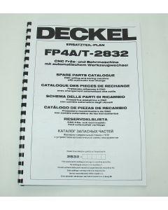 Ersatzteilplan Deckel Fräsmaschine FP4T 2832