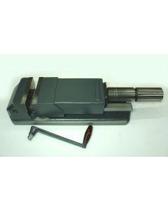 Maschinen Schraubstock Allmatic 125 gebr.mit Drehpl. z.B.für Deckel Fräsmaschine