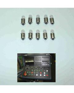 10x Lampe für Deckel NC Fräsmaschine mit Dialog 1-4 (Nr. 59800069)