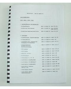 Elektrische Unterlagen  Deckel Fräsmaschine FP5NC D11  2846