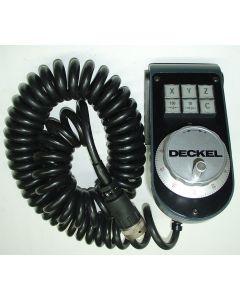 Elektr. Handrad neuwertig für C2,3/ D3-4 / D11 Deckel NC Fräsmaschine