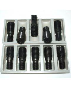 10 Anzugsbolzen S20x2 auf 5/8-11 Zoll  NEU z.B. für Deckel Fräsmaschine