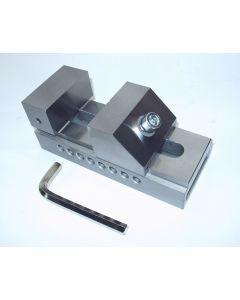Schleif- Schraubstock QKG Niederzug, Backenb.80mm neu z.B.f. Deckel Fräsmaschine