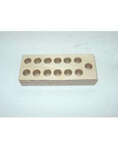 Holzsockel für ER11 Spannzangen