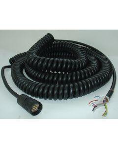 Anschlusskabel Spiralkabel 10m NEU für elekt. Handrad TNC355 Deckel Fräsmaschine