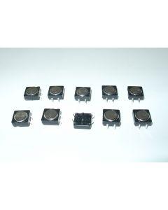 10 Drucktaster 12x12 mm von Heidenhain