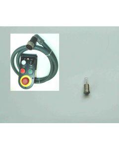1x Lampe 59800150 für Werkzeugwechsel an der Handsteuerleiste